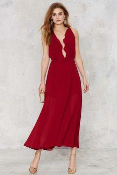 Spin Me 'Round Maxi Wrap Dress - Valentine's Day | Valentine's Day | Party Shop | Midi + Maxi