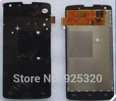 Takip numarası ile, orijinal lcd ekran + dokunmatik ekran meclisi için philips w8510 ctw8510 cellphone xenium cep telefonu