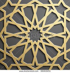 Find Islamic Ornament Vector Persian Motiff stock images in HD and millions of other royalty-free stock photos, illustrations and vectors in the Shutterstock collection. Wood Patterns, Mosaic Patterns, Textures Patterns, Arabic Pattern, Geometry Pattern, Islamic Architecture, Art And Architecture, Motifs Islamiques, Decorative Screen Panels