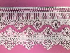 ▶ Learn How - Claire Bowman Cake Lace - YouTube