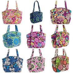 Vera Bradley Glenna NWT in 10 color choices. Starting at $39