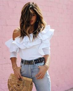 Simple Outfits, Classy Outfits, Summer Outfits, Cute Outfits, Trendy Outfits, Bota Over, Fashion Tips For Women, Womens Fashion, Elegantes Outfit