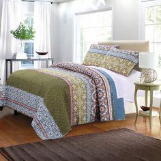 Shangri-La Quilt Set by Greenland Home Fashions | Jet.com