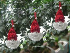 Crochet christmas santa claus