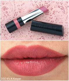 Rimmel The Only 1 Lipstick - 200 It's a Keeper: Frosty mauve with silver shimmers