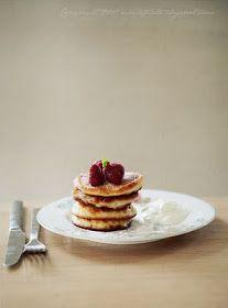 White Plate: Śniadanie i podwieczorek: Racuszki.