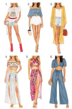 Coachella festival looks! #ShopStyle #shopthelook #FestivalLooks #coachella