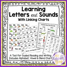 #GuidedReadingThe purpose of this product is to have a tool that will enable children to acquire two key principles in literacy learning:1) You can hear the sound at the beginning of a word.2) You can match letters and sounds at the beginning of a word (middle of/ end of a word).Using the charts in this product will help children learn the alphabetic principlethat letters and sounds have systematic relationships.There are many ways to develop letter, letter/sound and print knowledge.