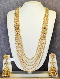 Image result for simple neck chain for saree