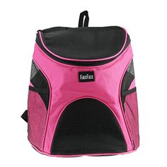 FakeFace Pet Dog Cat Puppy Softsided Mesh Carrier Backpack Pup Front Chest Back Pack w Comfortable Adjustable Shoulder Straps Outdoor Travel Cat Little Dog House for Small Dogs Cats Carrier Tote Bag *** You can find more details by visiting the image link. This is an Amazon Affiliate links.