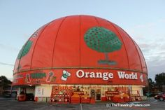 Orange World Roadside Attraction in Kissimmee, Florida
