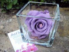 Créez vous-même votre composition florale stabilisée! Pour la Fête des Mères, Dimanche 25 Mai 2014 Offrez une Rose Eternelle (fleur naturelle stabilisée) Choisissez votre vase, la couleur de la rose et du diamant central
