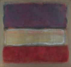 Mark Rothko, Untitled (Purple, White, and Red), 1953
