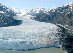 More than half the world's glaciers can be found Alaska.  About 5 percent of Alaska is covered by the 1,000-plus glaciers in the state.