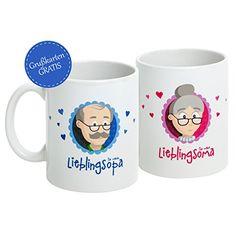 Die Tasse für Opa und Oma ist ein schönes Geschenk für deine Großeltern. Es ist…