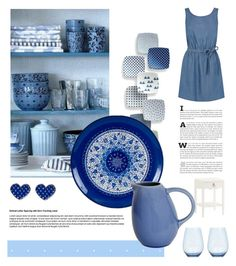 """""""Adorable decor"""" by lana-drazic-posao ❤ liked on Polyvore featuring interior, interiors, interior design, home, home decor, interior decorating, Oasis, Jars and Wedgwood"""