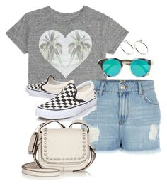 """Untitled #2870"" by meandelstyle ❤ liked on Polyvore featuring Billabong, River Island, Vans, Coach, J.Crew and ASOS"