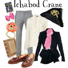 """Ichabod Crane - Sleepy Hollow"" by marybethschultz on Polyvore"