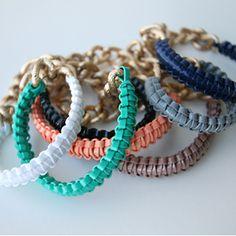 Rexlace bracelets