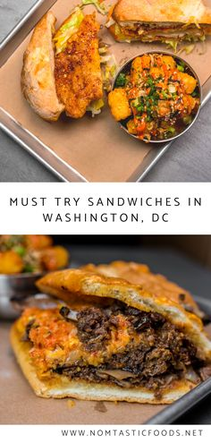 Looking for delicious sandwiches in Washington, DC?  Check out Nomtastic Foods' latest post to read all about ChiKo DuPont and see why their lunch offerings are an absolute must.  #lunch #washingtondc #dcfood #dcfoodies #chickensandwiches #bulgogi #hoagie #cheesesteaks Dc Food, Asian Restaurants, Dc Travel, Bulgogi, Delicious Sandwiches, Best Sandwich, Skirt Steak, Lunch Menu, Dessert For Dinner
