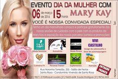 #evento #diadamulher #marykay #niterói #gratuito #sorteios