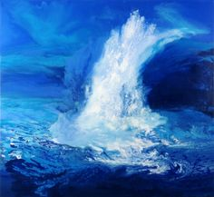 This is oil-falls13 / Oil on canvas, 2011 /
