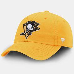 Pittsburgh Penguins Fundamental Adjustable Hat - Gold
