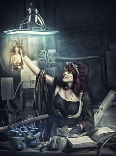 Steampunk dreams by RebecaSaray on deviantART