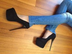high heels – High Heels Daily Heels, stilettos and women's Shoes Platform High Heels, High Heel Boots, High Heel Pumps, Pumps Heels, Stiletto Heels, Pretty Shoes, Cute Shoes, Beautiful High Heels, Black High Heels