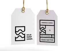 Silo Surf Shop brand & label.