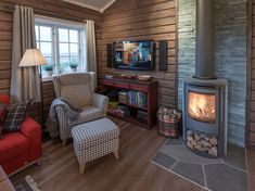 Country House Design, Cottage Design, Interior Stairs, Interior Design Living Room, Sauna Design, Cabin Interiors, Tiny Spaces, House In The Woods, Barn Apartment