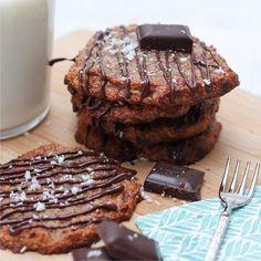 Csokoládés kókuszos cookie