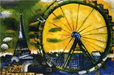 The Big Wheel - Marc Chagall