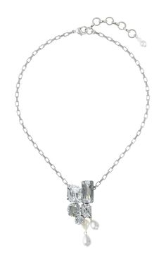 Chest Pendant Necklace by Gian Paolo Maria #swarovskicrystallized