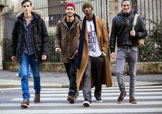 HOMBRES BELLEZA Y SALUD: MODA URBANA DE MILAN FASHION WEEK. Vídeo Moda Gucc...