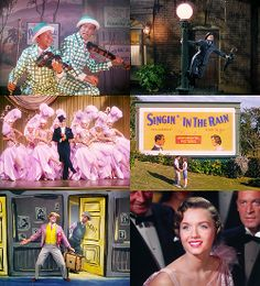Singin' in the Rain. I don't know why this makes me so happy... :)