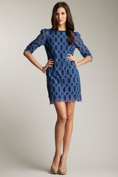 This is so Mad Men-esque! Tracy Reese Judy Dress