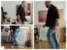 Juan Baraja moviéndose en su estudio: SITUÁNDOSE !!