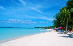 Boracay Beach is the most famous beach in the Philippines, and this is due to it's powder soft white sand and incredible clear blue water. Over 1.5 million tourist visit Boracay beach each year.