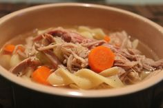 Homemade Turkey Soup!