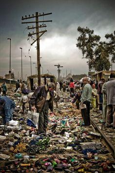 At the markets, Cairo