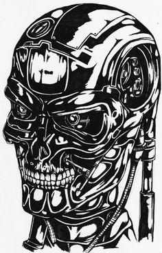 84 best terminator images robots sculptures end time GTA V Loading Screen terminator terminator tattoo terminator 1984 alien art movie poster art haja