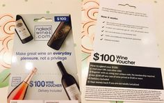 🎁Naked Wines $100 Wine Voucher Coupon Redemption Code Delivery Included/GIFT  | eBay