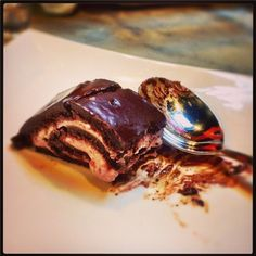 raw, vegan, organic, gluten free chocolate strawberry roll... it was/is delicious!