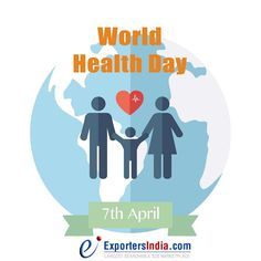 Good health is all about striking the right balance-nutrition, exercise, sleep, peace of mind. A healthy life is a happy life! #WorldHealthDay #ExportersIndia #HealthDay