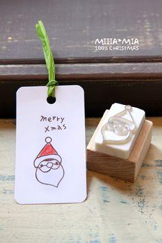 Merry Xmas Noel Stamp Carving Idea