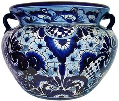 Talavera Pottery From Mexico....love It! Ofcourse I Donu0027t Need This Idea As  I Have Grown Up With This Stuff From My Mom ❤ Love It All | Pinterest ...