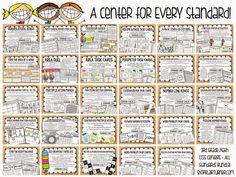 3rd Grade Math Center Bundle