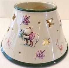 Disney Winnie the Pooh Jar Candle Topper Shade Eeyore Piglet