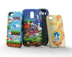 Sonic the Hedgehog inkFusion Cases for iPhone 5/5s, Samsung Galaxy S4 and iPhone 4/4s by Skinit